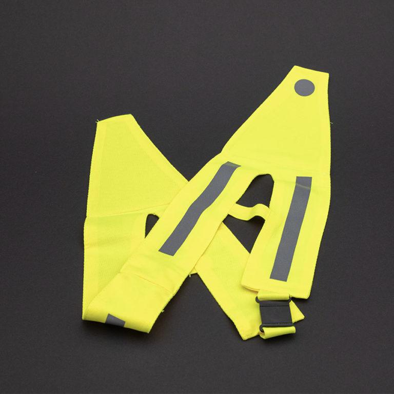 Gelber Sicherheitsgurt